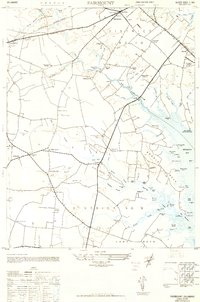 Download a high-resolution, GPS-compatible USGS topo map for Fairmount, DE (1949 edition)
