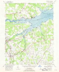Download a high-resolution, GPS-compatible USGS topo map for Frankford, DE (1970 edition)