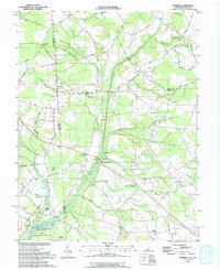 Download a high-resolution, GPS-compatible USGS topo map for Hickman, DE (1993 edition)