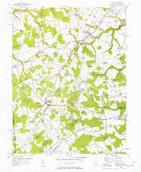 Download a high-resolution, GPS-compatible USGS topo map for Kenton, DE (1957 edition)