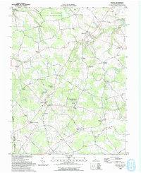 Download a high-resolution, GPS-compatible USGS topo map for Kenton, DE (1993 edition)