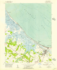 Download a high-resolution, GPS-compatible USGS topo map for Lewes, DE (1956 edition)