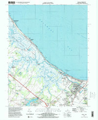 Download a high-resolution, GPS-compatible USGS topo map for Lewes, DE (2000 edition)