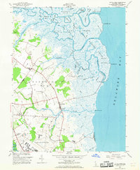 Download a high-resolution, GPS-compatible USGS topo map for Little Creek, DE (1968 edition)