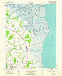 Download a high-resolution, GPS-compatible USGS topo map for Little Creek, DE (1962 edition)
