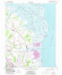 Download a high-resolution, GPS-compatible USGS topo map for Little Creek, DE (1990 edition)