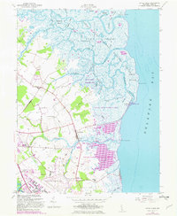 Download a high-resolution, GPS-compatible USGS topo map for Little Creek, DE (1982 edition)