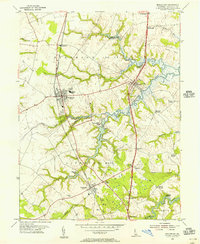 Download a high-resolution, GPS-compatible USGS topo map for Middletown, DE (1956 edition)
