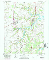 Download a high-resolution, GPS-compatible USGS topo map for Middletown, DE (1987 edition)