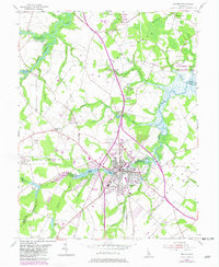Download a high-resolution, GPS-compatible USGS topo map for Milford, DE (1982 edition)