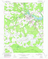 Download a high-resolution, GPS-compatible USGS topo map for Millsboro, DE (1982 edition)
