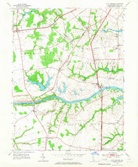 Download a high-resolution, GPS-compatible USGS topo map for Saint Georges, DE (1967 edition)