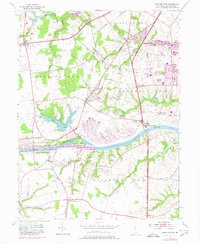 Download a high-resolution, GPS-compatible USGS topo map for Saint Georges, DE (1980 edition)