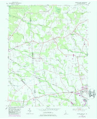 Download a high-resolution, GPS-compatible USGS topo map for Seaford West, DE (1987 edition)