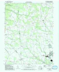Download a high-resolution, GPS-compatible USGS topo map for Seaford West, DE (1992 edition)