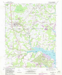 Download a high-resolution, GPS-compatible USGS topo map for Selbyville, DE (1983 edition)