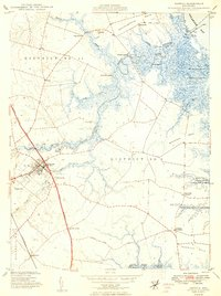 Download a high-resolution, GPS-compatible USGS topo map for Smyrna, DE (1949 edition)