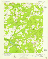 Download a high-resolution, GPS-compatible USGS topo map for Trap Pond, DE (1955 edition)