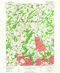 Download a high-resolution, GPS-compatible USGS topo map for Wilmington North, DE (1963 edition)