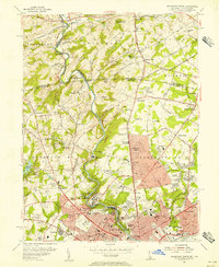 Download a high-resolution, GPS-compatible USGS topo map for Wilmington North, DE (1956 edition)