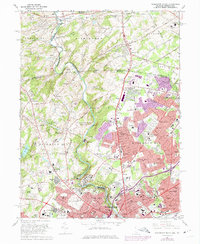 Download a high-resolution, GPS-compatible USGS topo map for Wilmington North, DE (1975 edition)