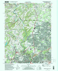 Download a high-resolution, GPS-compatible USGS topo map for Wilmington North, DE (2000 edition)
