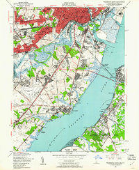 Download a high-resolution, GPS-compatible USGS topo map for Wilmington South, DE (1961 edition)