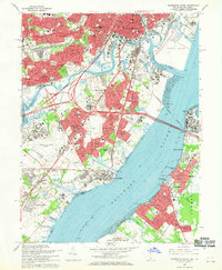 Download a high-resolution, GPS-compatible USGS topo map for Wilmington South, DE (1970 edition)
