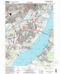 Download a high-resolution, GPS-compatible USGS topo map for Wilmington South, DE (2000 edition)