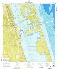 Map Of Fort Pierce Florida.Usgs 1 10000 Scale Quadrangle For Fort Pierce Fl 1972 Sciencebase