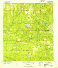 Download a high-resolution, GPS-compatible USGS topo map for Alford SE, FL (1953 edition)