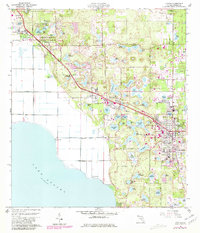 Download a high-resolution, GPS-compatible USGS topo map for Apopka, FL (1981 edition)