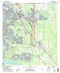 Download a high-resolution, GPS-compatible USGS topo map for Bayard, FL (1993 edition)