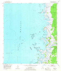 Download a high-resolution, GPS-compatible USGS topo map for Bayport, FL (1965 edition)