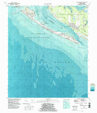 Download a high-resolution, GPS-compatible USGS topo map for Beacon Beach, FL (1998 edition)