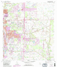 Download a high-resolution, GPS-compatible USGS topo map for Bee Ridge, FL (1988 edition)