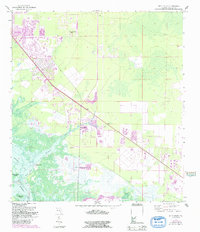 Download a high-resolution, GPS-compatible USGS topo map for Belle Meade, FL (1991 edition)