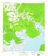 Download a high-resolution, GPS-compatible USGS topo map for Beverly, FL (1960 edition)