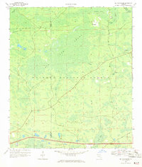 Download a high-resolution, GPS-compatible USGS topo map for Big Gum Swamp, FL (1971 edition)