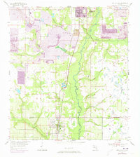 Download a high-resolution, GPS-compatible USGS topo map for Bowling Green, FL (1973 edition)