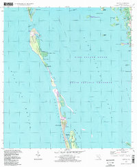 Download a high-resolution, GPS-compatible USGS topo map for Captiva, FL (1998 edition)