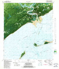 Download a high-resolution, GPS-compatible USGS topo map for Carrabelle, FL (1989 edition)