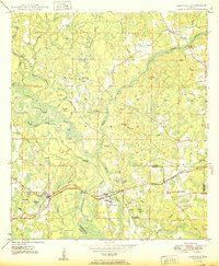 Download a high-resolution, GPS-compatible USGS topo map for Caryville, FL (1950 edition)