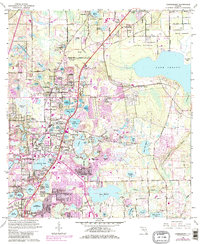 Download a high-resolution, GPS-compatible USGS topo map for Casselberry, FL (1981 edition)
