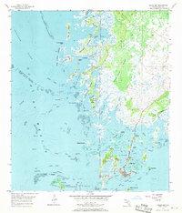 USGS 1:24000-scale Quadrangle for Cedar Key, FL 1955 - ScienceBase on