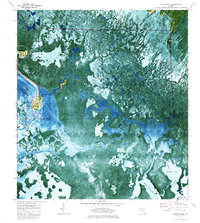 Download a high-resolution, GPS-compatible USGS topo map for Chokoloskee, FL (1984 edition)
