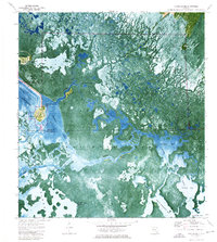 Download a high-resolution, GPS-compatible USGS topo map for Chokoloskee, FL (1976 edition)