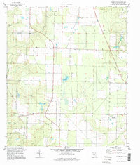 Download a high-resolution, GPS-compatible USGS topo map for Chumuckla, FL (1998 edition)