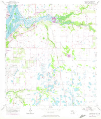 Download a high-resolution, GPS-compatible USGS topo map for Cleveland, FL (1972 edition)