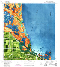 Download a high-resolution, GPS-compatible USGS topo map for Clewiston North, FL (1984 edition)